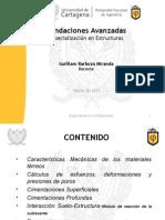 Fundaciones Avanzadas - Espec. Estructuras