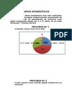 estadística nutrición