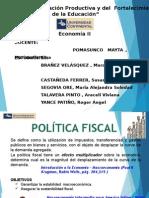 Politica Fiscal (Economía II)