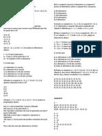lista 6 - álgebra 9° ano