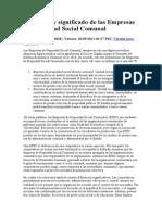 Funciones y significado de las Empresas de Propiedad Social Comunal.doc