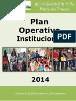 Plan Operativo 2014 PDF