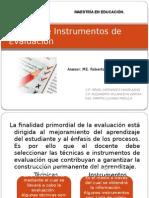 Tecnicas e Instrumentos de Evaluacion (1)