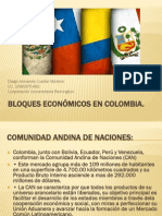 Bloques Económicos en Colombia Diego Armando