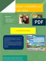 Biodiversidad y Desarrollo Del Perú
