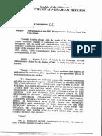 AO 2007-05 Conversion Amendments