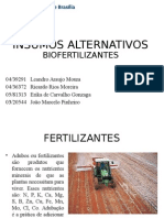 Insumos Alternativos e Biofertilizantes
