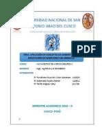 Aplicación de Conceptos Ambientales en Al Explotación de Res- Hidrocarburos II