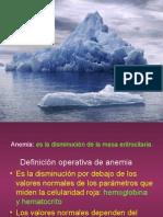 ANEMIA Generalidades