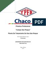 Informe Practica Planta San Roque Elvis Mamani Lopez.