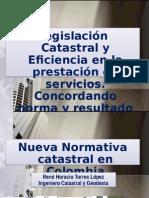 Normativa Catastral Colombiana