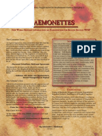 New World Bestiary - Daemonettes