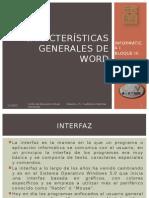 Características Generales de Word