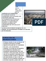 Frecuencia de Inundaciones