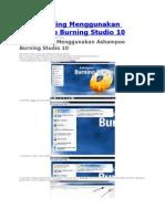Cara Burning Menggunakan Ashampoo Burning Studio 10