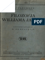 Flournoy - Filozofia Williama Jamesa