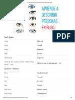 ¿Cómo Describir Personas en Ruso_ _ Aprender Ruso Online