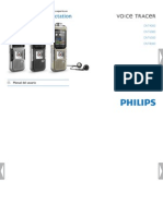 Manual Philips Voice Tracer DVT6000