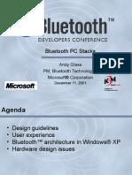 Bluetooth PC Stacks