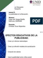 Efectos Educativos en la Publicidad