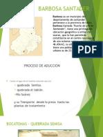 Presentacion Ptar Barbosa Santader