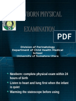 GDS K-6 - Newborn Physical Examination