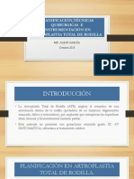 Planificación e Instrumentación en Artroplastia Total de Rodilla Drgarcia