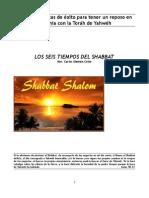 Seis Tiempos Del Shabbat