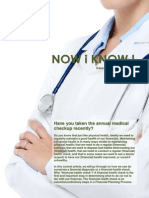 NOW i KNOW ! Cikaldana newsletter no. 02-2015 [on self financial diagnosis or checkup]