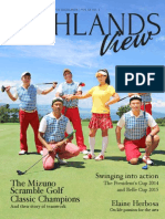 Highlands View Magazine Vol.20 No.1-2015