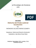 Tarea 8. Historia Del Poder Judicial Hondureño