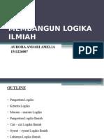 (1)Membangun Logika Ilmiah