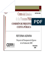 Analisis Cuenta Publica 2008 2009