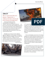 Bush Fire Article