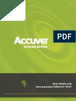 Datasheet XCAL Mobile