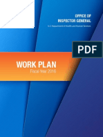 OIG 2016 Work Plan