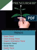 Ecopreneurship
