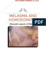 Melasma And Homoeopathy