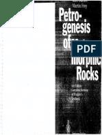 1.- Petrogenesis of Metamorphic Rocks Bucher Frey 1994