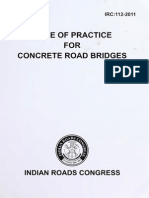 IRC 112 2011 (Reprinted With Amds & Errata Upto June 2014)