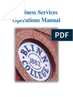 Business Services Operations Manual