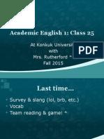 class 25 fall 2015