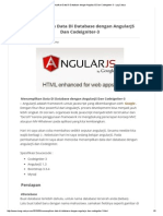 Menampilkan Data Di Database Dengan AngularJS Dan Codeigniter-3 - Log Cahya