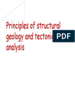 Structural Geology and Tectonic analysis