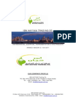 Hayaan Trading Profile