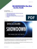 Disclosure Showdown - The War for the Truth - David Wilcock