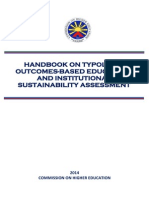 Handbook on Typology Outcomes