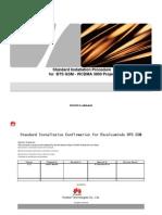 Standard Installation Procedure BTS 3900L - BTS 3900A ( GSM - WCDMA ) (1)