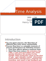 MM - OM - Flow Time Analysis Session 2b