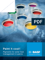 Paint It Cool! Pigments for Solar Heat Management in Paints